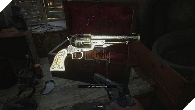 Resident Evil Village: Hướng dẫn cách tìm vũ khí ẩn của Moreau - M1851 Wolfsbane Magnum