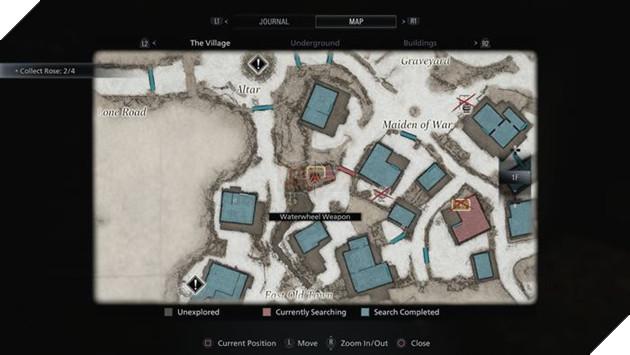 Hướng dẫn Resident Evil Village: Các bước để lấy vũ khí ở Waterwheel 3