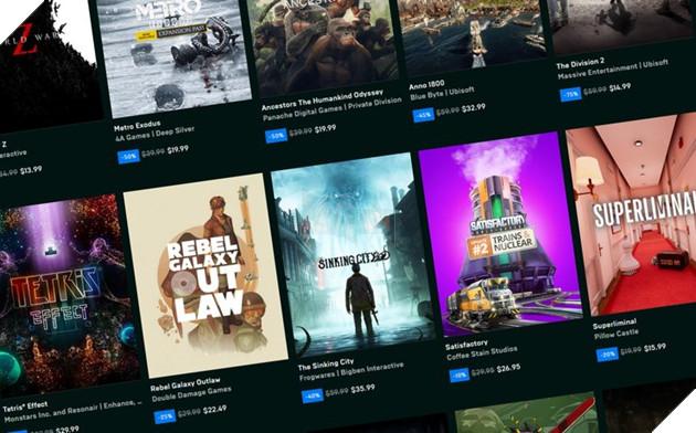 Epic Game Store rục rịch tặng free tựa game bom tấn Cyberpunk 2077?