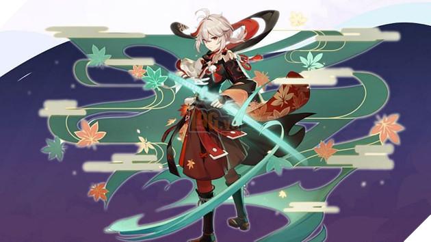 Genshin Impact - Hướng dẫn Kazuha cách lên Thánh Di Vật và vũ khí tốt nhất cho tân thủ