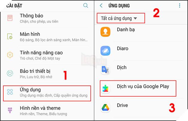 """Hướng dẫn: 7 cách khắc phục lỗi """"Rất tiếc, dịch vụ của Google Play đã ngừng hoạt động trên Android 4"""