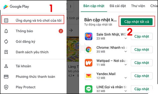 """Hướng dẫn: 7 cách khắc phục lỗi """"Rất tiếc, dịch vụ của Google Play đã ngừng hoạt động trên Android 7"""