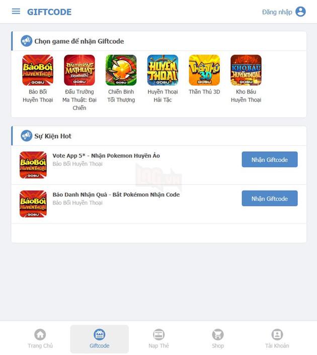 Hướng dẫn cách nhập và nhận Giftcode Kame.vn đơn giản nhất hàng tuần cho game thủ 2