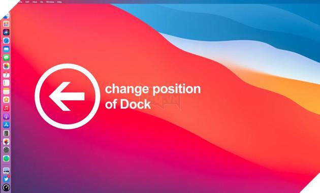 Hướng dẫn: Cách thay đổi vị trí của Dock trong macOS