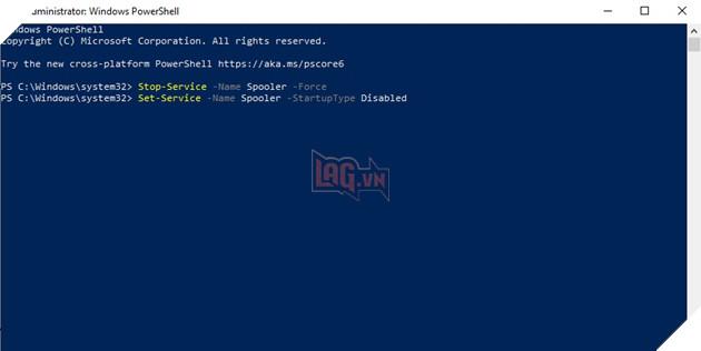 Cách khắc phục lỗ hổng PrintNightmare Print Spooler trên máy tính Windows 10 4