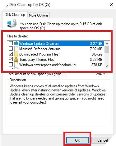 Hướng dẫn: Cách xóa dữ liệu bộ nhớ đệm trên máy tính Windows 10 4