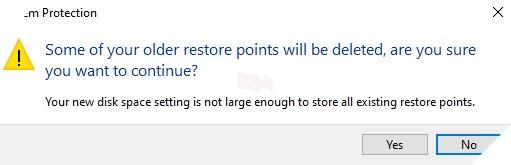 Cách tạo và sử dụng điểm System Restore Point trong máy tính Windows 10 5