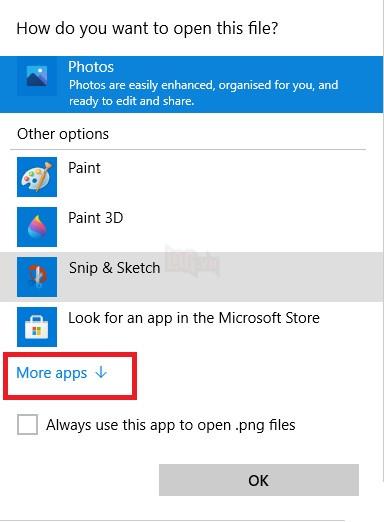Cách lưu ảnh chụp màn hình dưới dạng PDF trên máy tính Windows 10 6