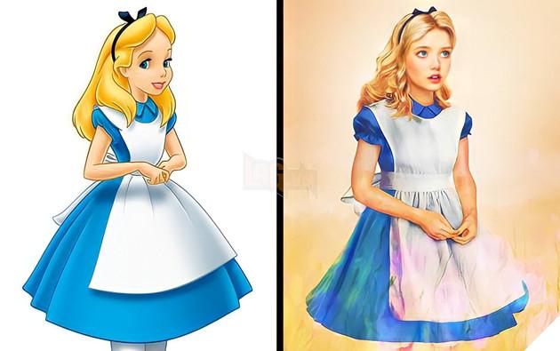 Khi các nhân vật Disney từ màn ảnh bước ra đời thực P5  7
