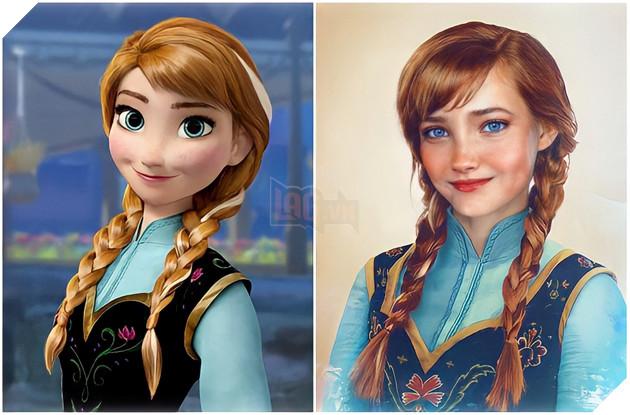 Khi các nhân vật Disney từ màn ảnh bước ra đời thực P5