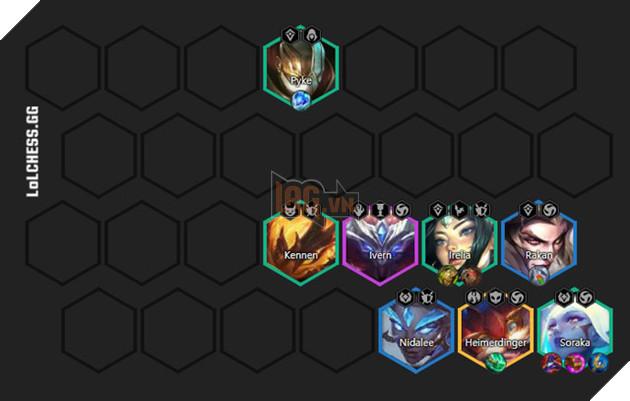 ĐTCL: Hướng dẫn đội hình Tái Tạo - Vệ Binh với Soraka chủ lực được kỳ thủ Thách Đấu cực kì tin dùng 5