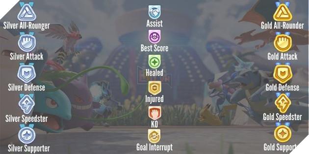 Pokemon Unite: Cùng tìm hiểu một chút về những huy chương trong game 2