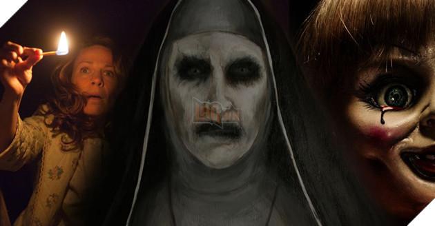 Hồn ma nữ tu vẫn là nhân vật kiếm ra tiền nhất trong vũ trụ phim Conjuring 2