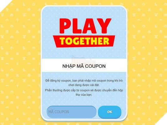Hướng dẫn cách nhập và tổng hợp Mã Giftcode Coupon của Play Together mới nhất năm 2021 2