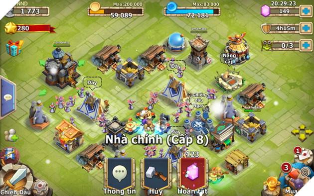 Hướng dẫn cách nhập và tổng hợp Magic Lab và Giftcode Castle Clash mới nhất năm 2021 3
