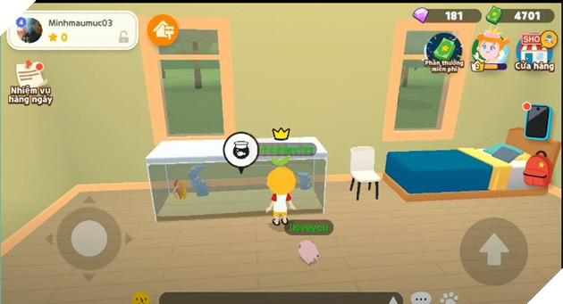Hướng dẫn cách đặt bể cá trong nhà khi tham gia Play Together 3