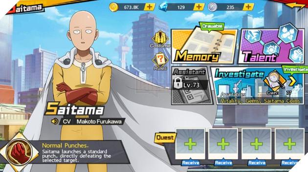 One Punch Man: The Strongest Man - Hướng dẫn chi tiết cách lên cấp nhanh nhất cho người mới bắt đầu 5