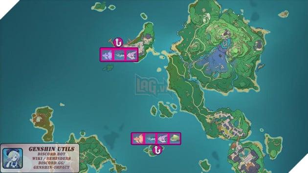 Genshin Impact: Hướng dẫn tất cả vị trí bãi câu cá và cách lấy Đao Xiên Cá miễn phí 13