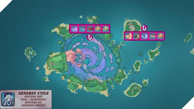 Genshin Impact: Hướng dẫn tất cả vị trí bãi câu cá và cách lấy Đao Xiên Cá miễn phí 7