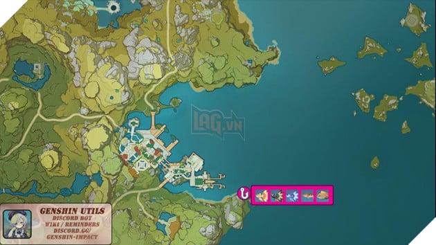Genshin Impact: Hướng dẫn tất cả vị trí bãi câu cá và cách lấy Đao Xiên Cá miễn phí 11