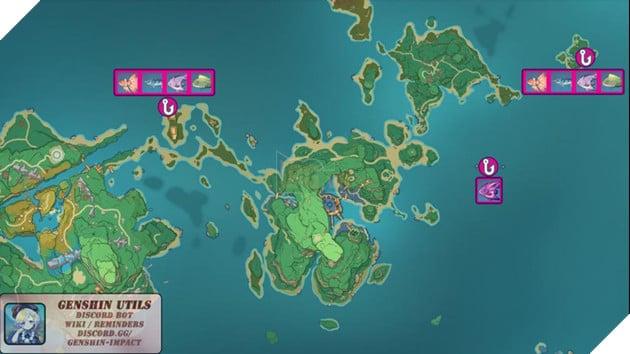 Genshin Impact: Hướng dẫn tất cả vị trí bãi câu cá và cách lấy Đao Xiên Cá miễn phí 12