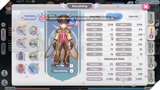 Ragnarok X: Next Generation VN - Hướng dẫn cách build Pháp sư cực mạnh trong game
