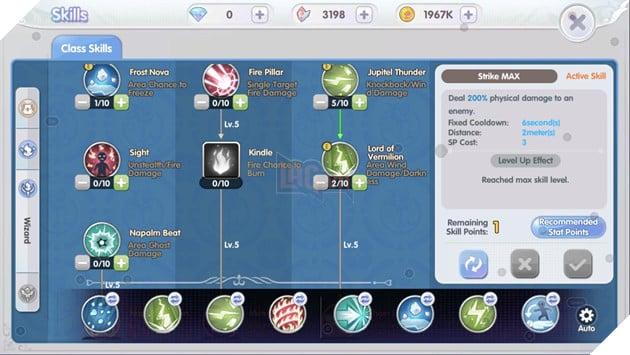 Ragnarok X: Next Generation VN - Hướng dẫn cách build Pháp sư cực mạnh trong game 4