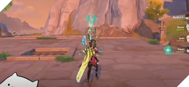 Genshin Impact - Hướng dẫn cách thực hiện Dragon Strike giúp bạn thực hiện plunge attack 1 cách thoải mái 3
