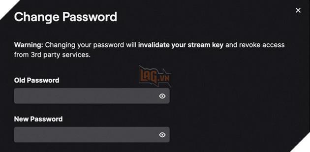 Hướng dẫn cách thay đổi mật khẩu của Twitch khi nền tảng này bị tấn công bởi hacker 3